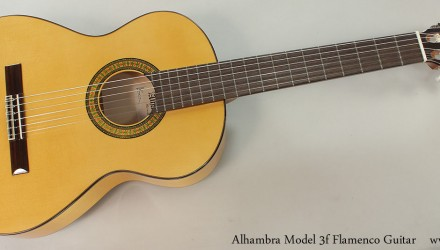 Alhambra-Model-3f-Flamenco-Guitar-Full-Front-View