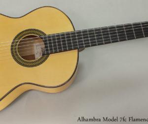 Alhambra 7fc Flamenco Guitar