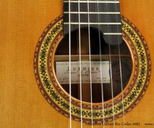 Alhambra Luthier Rio Concert Classical Guitar