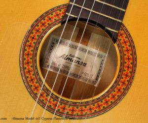 Almansa 447 Cypress Flamenco Guitar (consignment) SOLD