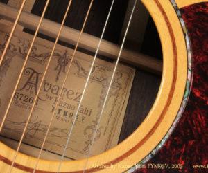 2005 Alvarez by Kazuo Yairi FYM95V steel string  SOLD