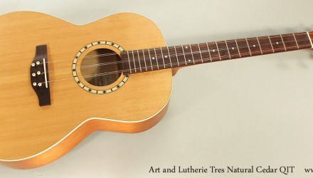 Art-and-Lutherie-Tres-Natural-Cedar-QIT-Full-Front-View