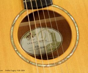 2004 Avalon Legacy A10c Cutaway Jumbo  SOLD