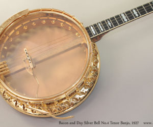 1927 Bacon and Day Silver Bell No4 Tenor Banjo (consignment)  SOLD