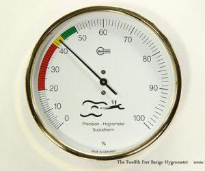The Twelfth Fret Barigo Hygrometer