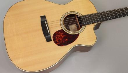 G-W-Barry-M-Body-Cutaway-Acoustic-Guitar-1997-Top