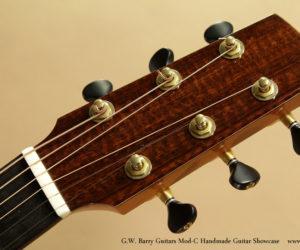G.W. Barry Guitars Mod-C Handmade Guitar Showcase