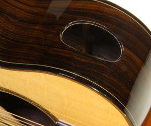 G W Barry Mod-C Ziricote Cutaway Steel String Guitar, 2018