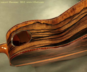 Sneak Preview - GW Barry Guitars for the Montreal Guitar Show