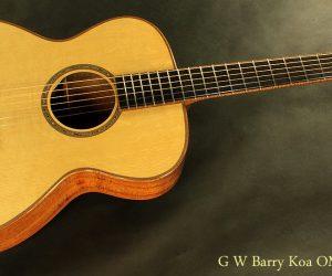2012 G.W. Barry OM Koa (SOLD)