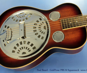 Beard-GoldTone PBS-M Mahogany Squareneck Resonator  SOLD
