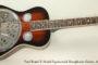 2011 Paul Beard R Model Squareneck Resophonic Guitar  SOLD