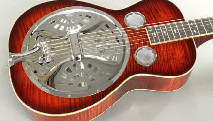 Beard-R-Model-Flame-Maple-Squareneck-Resophonic-Guitar-top