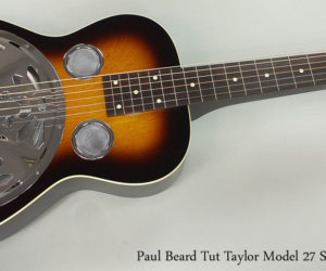 Paul Beard Tut Taylor Model 27 Squareneck