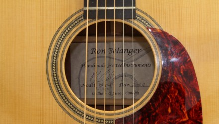 Ron-Belanger-Bubinga-Dreadnought-2004-label