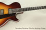 NO LONGER AVAILABLE!!! 2007 Benedetto Bambino Thinline Archtop Guitar