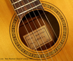 1983 Marc Beneteau Classical Cutaway (consignment)  SOLD