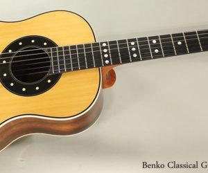 SOLD!!! 1999 Benko Classical Guitar