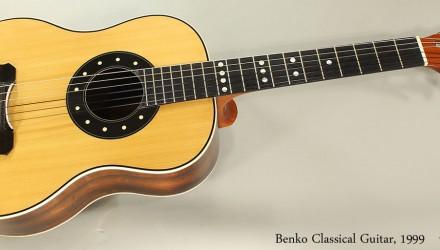 Benko-Classical-Guitar-1999-Full-Front-View