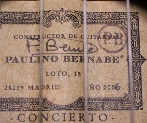 Bernabe Concierto 2006 (Consignment) SOLD