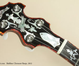 2012 Bishline Clermont Banjo  SOLD!