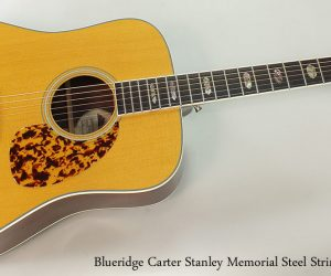 2006 Blueridge Carter Stanley Memorial  SOLD