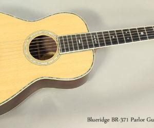 SOLD!!! 2009 Blueridge BR-371 Parlor Guitar