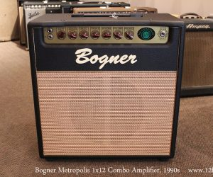 NO LONGER AVAILABLE!!! 1990s Bogner Metropolis 1x12 Combo Amplifier