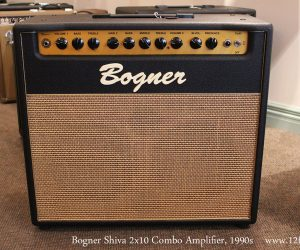 NO LONGER AVAILABLE!!! 1990s Bogner Shiva 2x10 Combo Amplifier