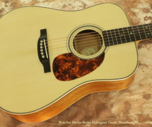 Boucher Studio Series Mahogany Goose Dreadnought