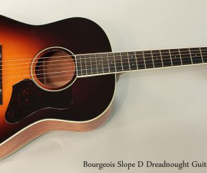 SOLD!!! 2003 Bourgeois Slope D