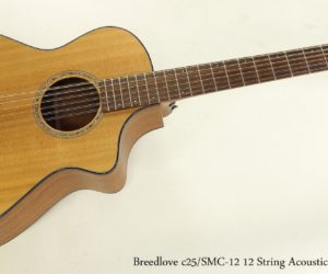 Breedlove c25/SMC-12 12 String Acoustic Guitar, 2013