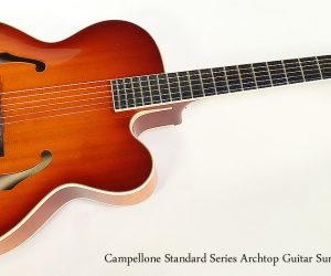 ❌SOLD❌  Campellone Standard Series Archtop Guitar Sunburst, 2002