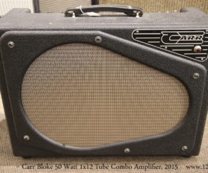 ❌SOLD❌ Carr Bloke 50 Watt 1x12 Tube Combo Amplifier, 2015