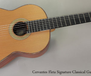 ❌SOLD❌ 2010 Cervantes Fleta Signature Classical Guitar