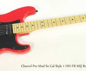 SOLD!!! 2010 Charvel Pro Mod So Cal Style 1 HH FR MIJ Rocket Red