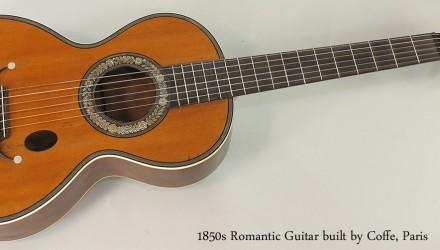 Romantic-Guitar-built-by-Coffe-Paris-1850s-Full-Front-View