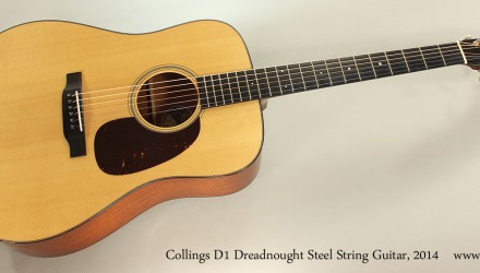 Collings-D1-Dreadnought-Steel-String-Guitar-2014-Full-Front-View