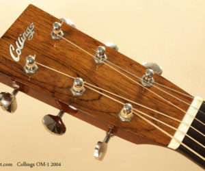 2004 Collings OM1 Guitar (consignment)  SOLD