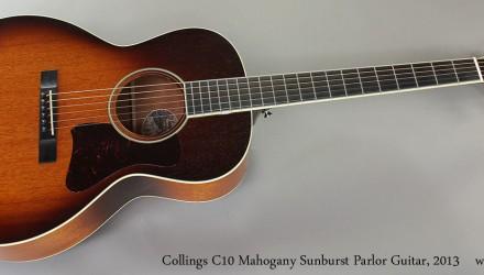 Collings-C10-Mahogany-Sunburst-Parlor-Guitar-2013-Full-Front-Vie
