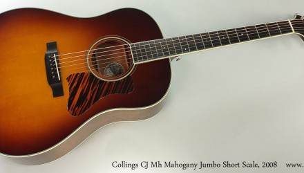 Collings-CJ-Mh-Mahogany-Jumbo-Short-Scale-2008-Full-Front-View