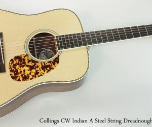 2011 Collings CW Indian A  SOLD