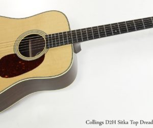 Collings D2H Sitka Top Dreadnought, 2016