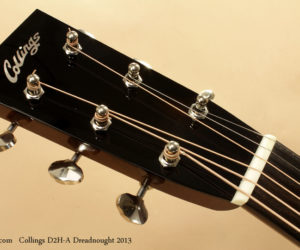 2013 Collings D2H-A Dreadnought Guitar (consignment)  SOLD