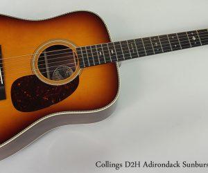 2011 Collings D2H Adirondack Sunburst SOLD