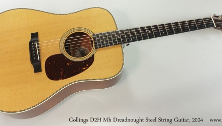 Collings-D2H-Mh-Dreadnought-Steel-String-Guitar-2004-Full-Front-View