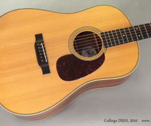 2010 Collings DS2H Slot Head 12-Fret (consignment)  SOLD