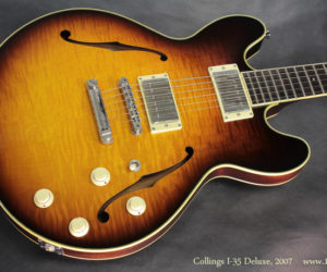 2007 Collings I-35 Deluxe (consignment)  SOLD