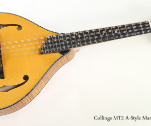 2017 Collings MT2 A-Style Mandolin