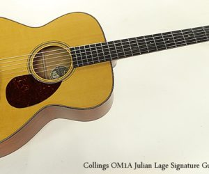 SOLD!  Collings OM1A Julian Lage Signature Guitar, 2018